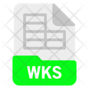 Wks File Format Icon