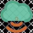 Wlan Cloud Network Icon