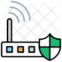 Wlan Security Internet Icon