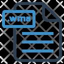 Wma File Sheet Icon