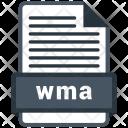 Wma File Formats Icon