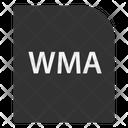 Windows Media Audio File File Extension Icon
