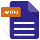 Wma File Sheet Icon