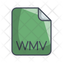 Wmv Video File Icon