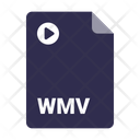 Document Wmv File Icon