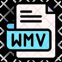 Wmv File Type File Format Icon