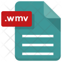 Wmv File Sheet Icon