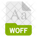 Woff file Icon