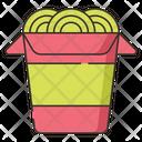 Wok Box Fast Food Juck Food Icon