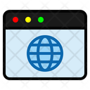 Wold Page Globe Global Icon