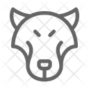 Wolf Animal Wildlife Icon