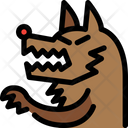 Wolf Animal Monster Icon