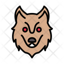 Wolf Face Zoo Icon