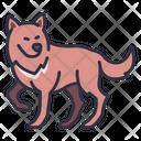 Wolf Dog Animal Icon