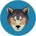 Wolf Wild Animal Icon