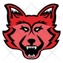 Wolf Face Wolf Mascot Canis Lupus Face Icon