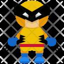 Wolverine Man Avatar Icon