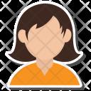 Avatar Girl User Icon