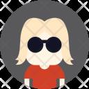 Sunglasses Woman Avatar Icon