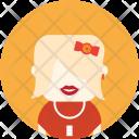 Vintage Woman Avatar Icon