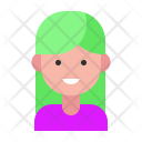 Woman Girl Avatar Icon