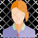 Woman Profile User Icon