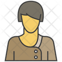 Woman Avatar Character Icon
