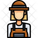 Woman Woman Worker Technician Icon