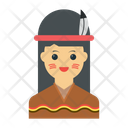 Girl Female Character Icon