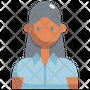 Woman User Avatar Icon