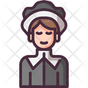 Woman Thanksgiving Cultures Icon