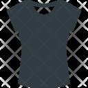 Woman Tshirt Shirt Icon