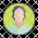 Woman Avatar Profile Icon