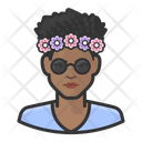 Woman Girl Female Icon