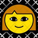 Woman Girl Face Icon