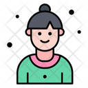 Woman Trainer User Icon