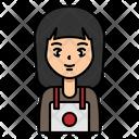 Woman Girl Seller Icon