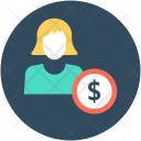 Woman Businesswoman Businessperson Icon