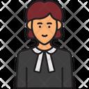 Woman Advocate Advocate Lawyer Icon