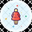 Woman Bathroom Toilet Icon