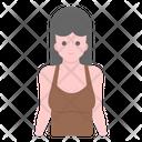 Female Avatar Woman Bodybuilder Fitness Trainer Icon