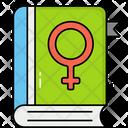 Woman Book Icon