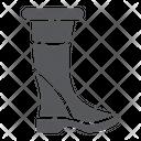 Woman Boots Footwear Icon