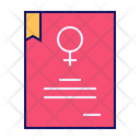 Right Certificate Agreement Icon