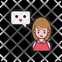 Message Notification Emoji Icon