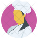 Woman Chef Icon