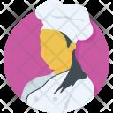 Woman Chef Girl Icon