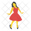 Woman Dancer Icon