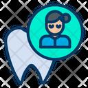 Woman Dentist Occupation Icon