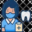 Woman Dentist Female Dentist Woman Icon